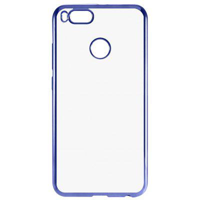 Buy BLUE Luanke TPU Soft Electroplating Phone Case for Xiaomi Mi 5X for $3.01 in GearBest store