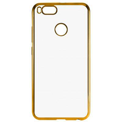 Buy GOLDEN Luanke TPU Soft Electroplating Phone Case for Xiaomi Mi 5X for $3.01 in GearBest store