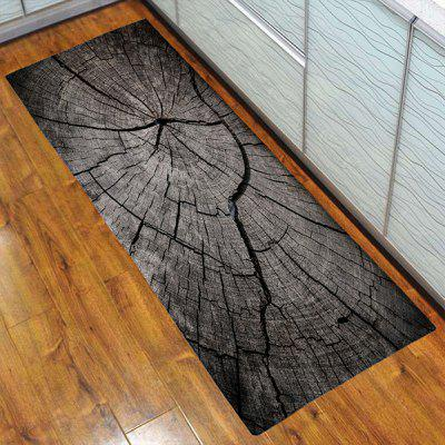 3D Printing Retro Rings Pattern Bath Mat Welcome Floor Carpet Non-Slip Area Rug