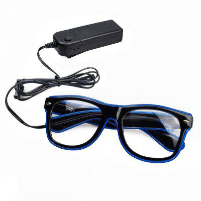 LED Luminescent Glasses Atmosphere Props