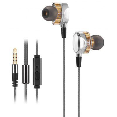 G2 4D Stereo Surround Professional HiFi Earphones with Mic 4d massager