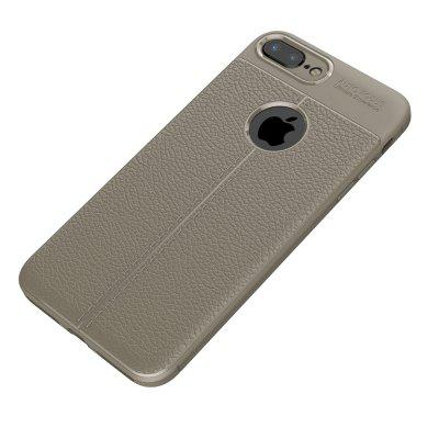 Luanke Lichee Veins TPU Protective Case for iPhone 7 PlusiPhone Cases/Covers<br>Luanke Lichee Veins TPU Protective Case for iPhone 7 Plus<br><br>Brand: Luanke<br>Compatible for Apple: iPhone 7 Plus<br>Features: Anti-knock, Back Cover, Button Protector, Dirt-resistant<br>Material: PU Leather, TPU<br>Package Contents: 1 x Phone Case<br>Package size (L x W x H): 21.00 x 13.00 x 1.80 cm / 8.27 x 5.12 x 0.71 inches<br>Package weight: 0.0290 kg<br>Product size (L x W x H): 16.20 x 8.00 x 1.00 cm / 6.38 x 3.15 x 0.39 inches<br>Product weight: 0.0260 kg<br>Style: Modern, Solid Color, Cool