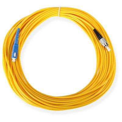 Single Mode Jumper Cable FC - SC Optical Patch Cord SM SX 3.0mm