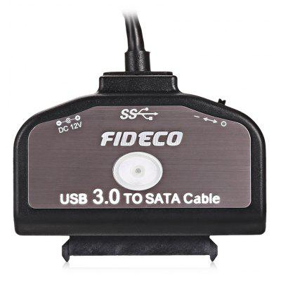 FIDECO USB 3.0 to SATA Converter Cable with OTB Function