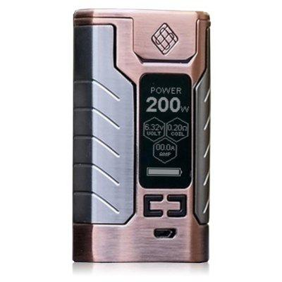 WISMEC SINUOUS FJ200 TC Box Mod