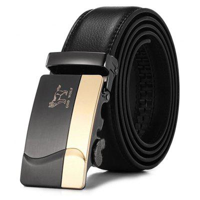Fashion Leisure Genuine Leather Trouser Belt for Men