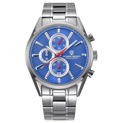 PAGANIDESIGN 2765 Elegant Steel Band Men Quartz Watch