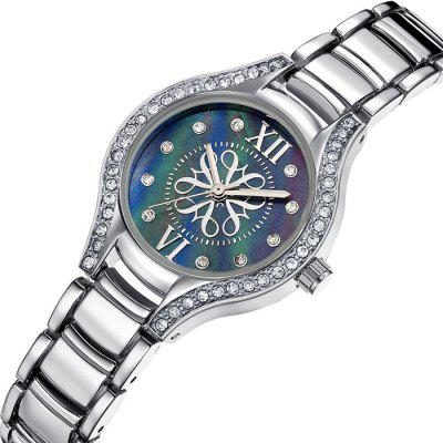 CRRJU 2126 Women Stylish Alloy Band Quartz Wrist WatchWomens Watches<br>CRRJU 2126 Women Stylish Alloy Band Quartz Wrist Watch<br><br>Band material: Alloys<br>Band size: 19 x 1.2cm<br>Brand: CRRJU<br>Case material: Alloy<br>Clasp type: Sheet folding clasp<br>Dial size: 2.7 x 2.7 x 0.8cm<br>Display type: Analog<br>Movement type: Quartz watch<br>Package Contents: 1 x Watch, 1 x Case<br>Package size (L x W x H): 9.00 x 9.00 x 6.00 cm / 3.54 x 3.54 x 2.36 inches<br>Package weight: 0.0800 kg<br>Product size (L x W x H): 19.00 x 2.70 x 0.80 cm / 7.48 x 1.06 x 0.31 inches<br>Product weight: 0.0500 kg<br>Shape of the dial: Round<br>Watch mirror: Acrylic<br>Watch style: Fashion, Business<br>Watches categories: Female table<br>Water resistance: Life water resistant