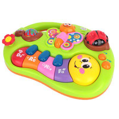 Kids Early Education Finger Enlightenment Piano Toy puzzle multifunctional piano baby early education music hand drums intelligent piano toys