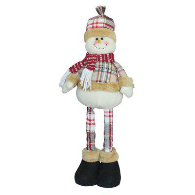 Creative Christmas Gift Party Stretched Snowman ToyChristmas Supplies<br>Creative Christmas Gift Party Stretched Snowman Toy<br><br>For: All, Friends, Kids, Sisters<br>Material: Nonwoven<br>Package Contents: 1 x Christmas Decoration<br>Package size (L x W x H): 13.50 x 13.50 x 39.00 cm / 5.31 x 5.31 x 15.35 inches<br>Package weight: 0.2200 kg<br>Product weight: 0.2000 kg<br>Usage: Birthday, Party, Christmas