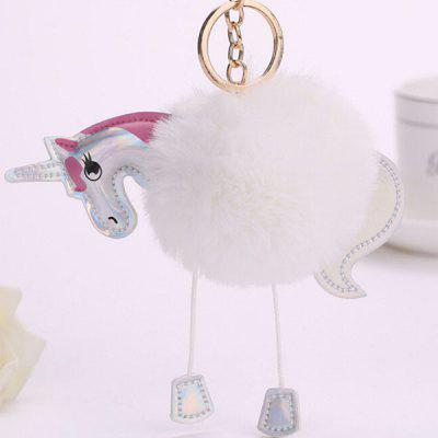 Buy WHITE Cartoon Horse Style Hang Decoration for $3.65 in GearBest store