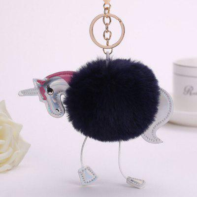 Buy BLACK Cartoon Horse Style Hang Decoration for $3.65 in GearBest store