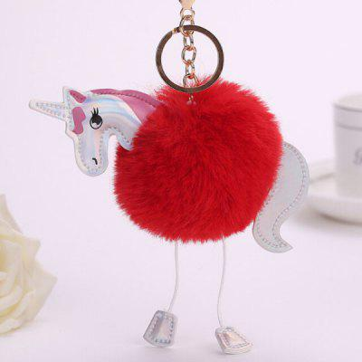 Buy RED Cartoon Horse Style Hang Decoration for $3.65 in GearBest store
