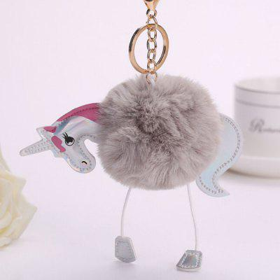 Buy GRAY Cartoon Horse Style Hang Decoration for $3.65 in GearBest store