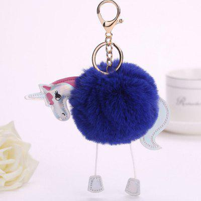 Buy BLUE Cartoon Horse Style Hang Decoration for $3.65 in GearBest store