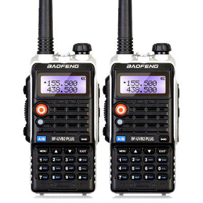 BaoFeng BF - B2PLUS 2PCS Wireless Dual Band Walkie Talkie
