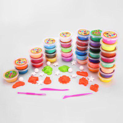 36 Colors DIY Stress Relief Toy Jumbo Squishy Clay Mud