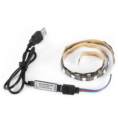 Buy RGB Practical 50CM 2.2W RGB Light LED Strip Lamp DC5V for $3.88 in GearBest store