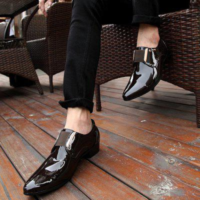 Male Business Golssy Rivet Decorative Casual Dress ShoesFormal Shoes<br>Male Business Golssy Rivet Decorative Casual Dress Shoes<br><br>Closure Type: Slip-On<br>Contents: 1 x Pair of Shoes, 1 x Box<br>Function: Slip Resistant<br>Materials: PU, Rubber<br>Occasion: Tea Party, Party, Office, Formal, Dress, Daily, Casual<br>Outsole Material: Rubber<br>Package Size ( L x W x H ): 30.00 x 18.00 x 12.00 cm / 11.81 x 7.09 x 4.72 inches<br>Pattern Type: Solid<br>Seasons: Autumn,Spring<br>Style: Modern, Leisure, Formal, Fashion, Comfortable, Casual, Business<br>Toe Shape: Pointed Toe<br>Type: Casual Leather Shoes<br>Upper Material: PU