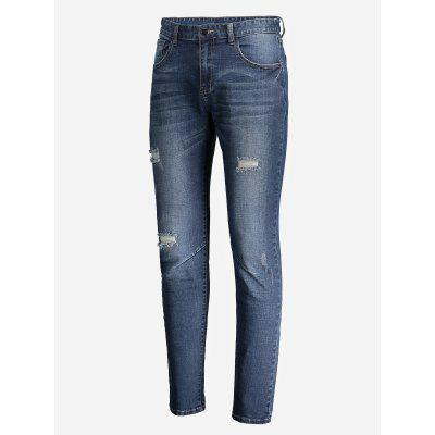 Ripped Faded Skinny Jeans sauvage часы sauvage sv89341s коллекция triumph