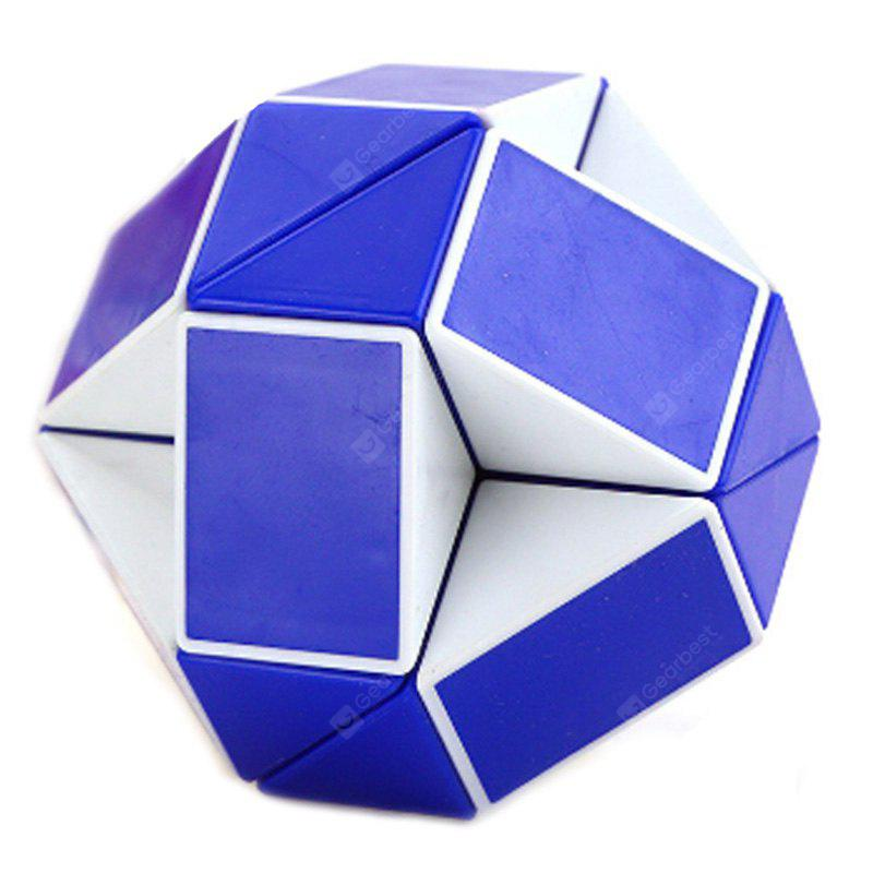 Buy Changed Puzzle Toy 24 Pieces Irregular Magic Cube BLUE AND WHITE