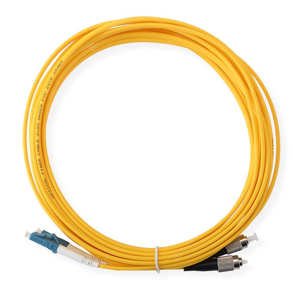 Buy Jumper Cable LC - FC Optical Patch Cord Duplex 3.0mm 5M ORANGE