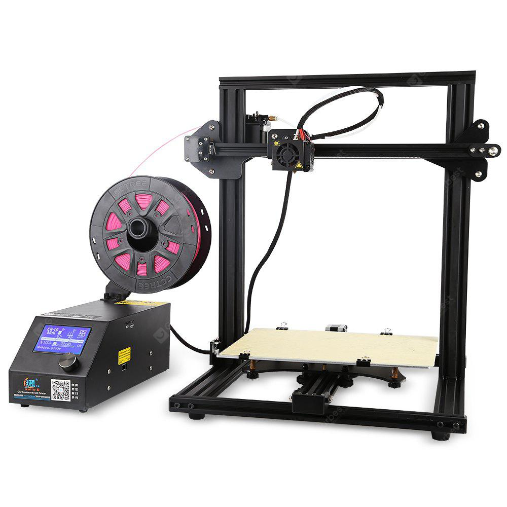 Creality3D CR - 10mini 3D Desktop DIY Printer Kit - BLACK US
