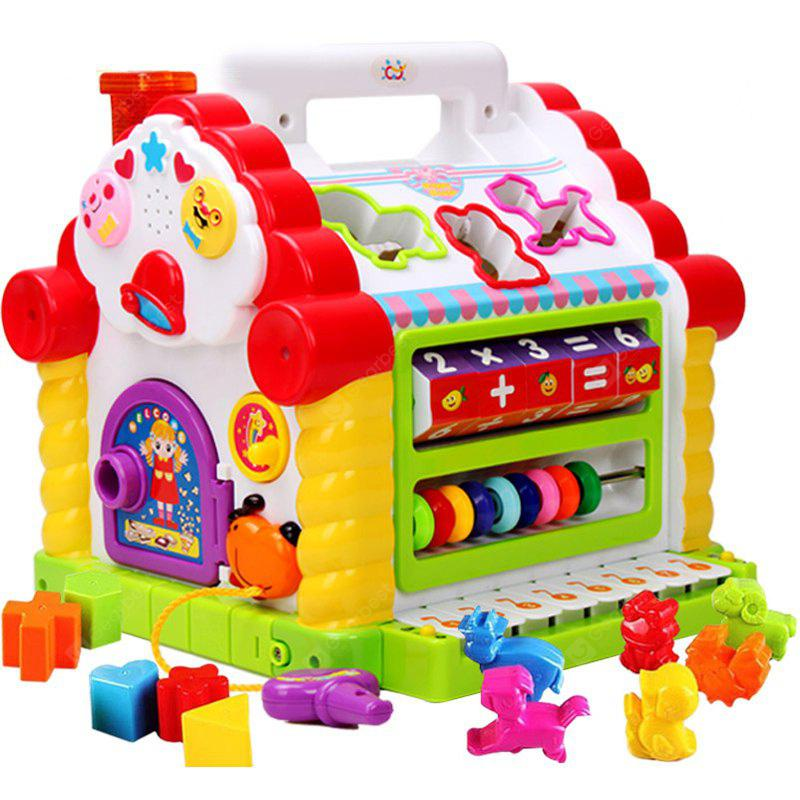 Buy Kids Early Education Smart Fun House Building Block Toy COLORMIX