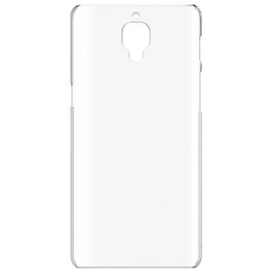Buy TRANSPARENT Luanke Transparent PC Hard Phone Case Cover for OnePlus 3 for $1.59 in GearBest store