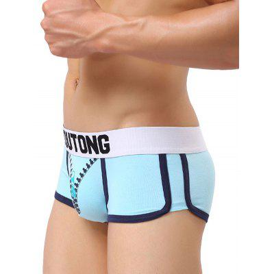 Soutong Men Comfortable Boxer BriefMens Underwear &amp; Pajamas<br>Soutong Men Comfortable Boxer Brief<br><br>Brand: soutong<br>Material: Cotton, Spandex<br>Package Contents: 1 x Boxers<br>Package size: 17.00 x 14.00 x 3.00 cm / 6.69 x 5.51 x 1.18 inches<br>Package weight: 0.0800 kg<br>Product weight: 0.0600 kg