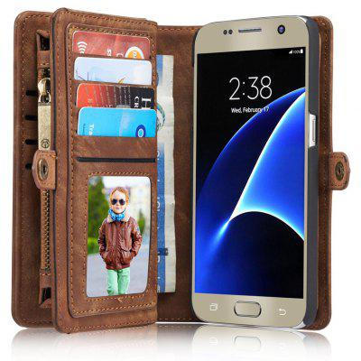 CaseMe Wallet Phone Cover Case for Samsung Galaxy S7
