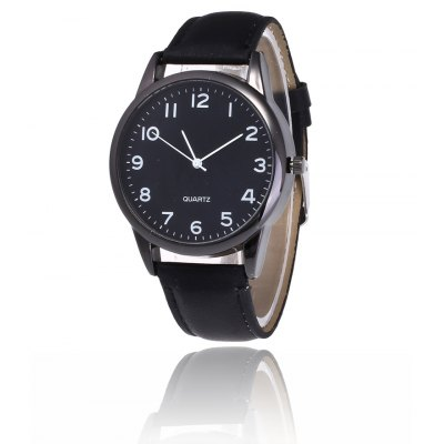 Simple PU Band Men Quartz Watch