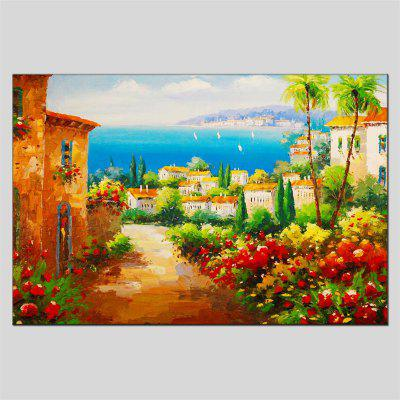 Buy COLORMIX Hua Tuo Modern Hand Painted Canvas Landscape Oil Painting for $58.44 in GearBest store