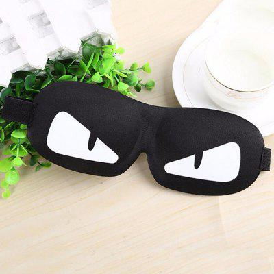 Buy WHITE AND BLACK Black Mask Bandage on Eyes for Sleeping for $4.28 in GearBest store