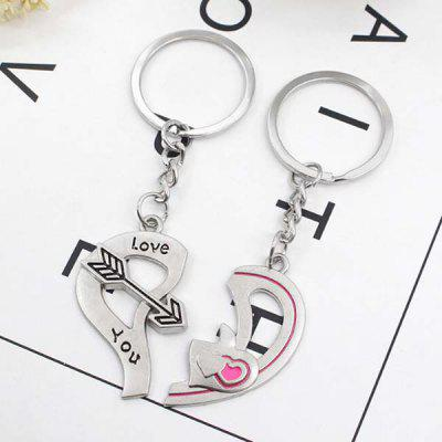2PCS Stylish Heart Pattern Lovers Key ChainKey Chains<br>2PCS Stylish Heart Pattern Lovers Key Chain<br><br>Design Style: Fashion, Romantic<br>Gender: Unisex<br>Materials: Alloy<br>Package Contents: 2 x Key Chain<br>Package size: 9.00 x 8.00 x 5.00 cm / 3.54 x 3.15 x 1.97 inches<br>Package weight: 0.0300 kg<br>Product size: 4.30 x 3.90 x 1.00 cm / 1.69 x 1.54 x 0.39 inches<br>Product weight: 0.0170 kg<br>Stem From: China<br>Theme: Love