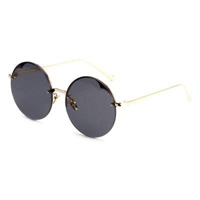 Western Style Colorful Lens Neutral Sunglasses