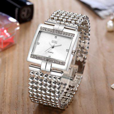 O.T.SEA 4560 Square Dial Steel Band Women Quartz WatchWomens Watches<br>O.T.SEA 4560 Square Dial Steel Band Women Quartz Watch<br><br>Band material: Steel<br>Band size: 21 x 2.5cm<br>Brand: OTSEA<br>Case material: Alloy<br>Clasp type: Sheet folding clasp<br>Dial size: 3.3 x 3.3 x 0.7cm<br>Display type: Analog<br>Movement type: Quartz watch<br>Package Contents: 1 x Watch, 1 x Box<br>Package size (L x W x H): 28.00 x 8.00 x 3.50 cm / 11.02 x 3.15 x 1.38 inches<br>Package weight: 0.1500 kg<br>Product size (L x W x H): 21.00 x 3.30 x 0.70 cm / 8.27 x 1.3 x 0.28 inches<br>Product weight: 0.1000 kg<br>Shape of the dial: Square<br>Watch mirror: Acrylic<br>Watch style: Fashion<br>Watches categories: Women<br>Water resistance: No