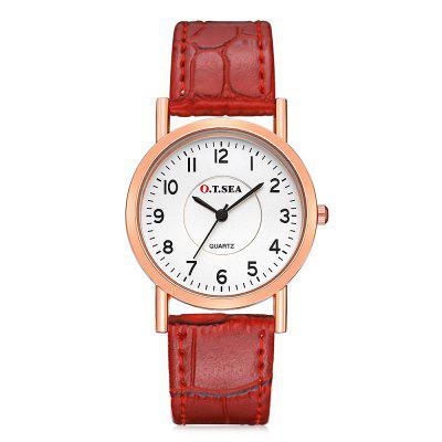 O.T.SEA 844 Stylish Leather Band Couple Quartz WatchCouples Watches<br>O.T.SEA 844 Stylish Leather Band Couple Quartz Watch<br><br>Band material: Leather<br>Brand: OTSEA<br>Case material: Alloy<br>Clasp type: Pin buckle<br>Display type: Analog<br>Movement type: Quartz watch<br>Package Contents: 1 x Couple Watch, 1 x Box<br>Package size (L x W x H): 28.00 x 8.00 x 3.50 cm / 11.02 x 3.15 x 1.38 inches<br>Package weight: 0.0890 kg<br>Shape of the dial: Round<br>The female dial dimension (L x W x H): 2 x 2 x 0.6cm<br>The female size (L x W x H): 21 x 2 x 0.6cm<br>The female watch band dimension (L x W): 21 x 1.2cm<br>The female watch weight: 0.015kg<br>The male dial dimension (L x W x H): 3.4 x 3.4 x 0.6cm<br>The male watch band dimension (L x W): 23.5 x 1.8cm<br>The male watch size (L x W x H): 23.5 x 3.4 x 0.6cm<br>The male watch weight: 0.024kg<br>Watch mirror: Acrylic<br>Watch style: Fashion<br>Watches categories: Couple tables