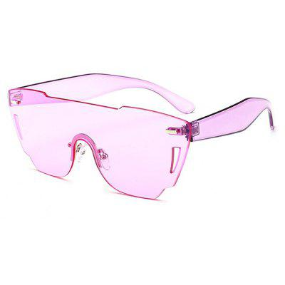 Western Style No Frame Integrated Women Sunglasses