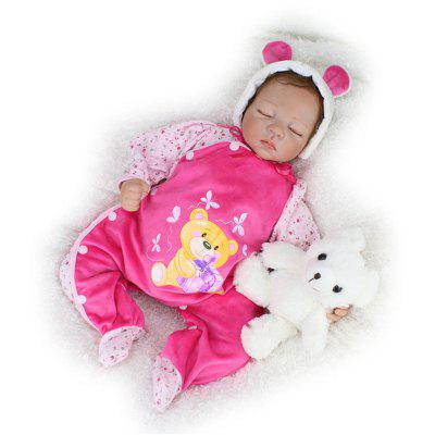 Realistic Simulation Closed Eyes Baby Doll Toy