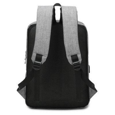 Men Chic Water-resistant Laptop Backpack with USB PortBackpacks<br>Men Chic Water-resistant Laptop Backpack with USB Port<br><br>Closure Type: Zip<br>Features: Wearable<br>Gender: Men<br>Material: Polyester<br>Package Size(L x W x H): 32.00 x 4.00 x 42.00 cm / 12.6 x 1.57 x 16.54 inches<br>Package weight: 0.7000 kg<br>Packing List: 1 x Backpack<br>Product weight: 0.6000 kg<br>Style: Fashion, Casual<br>Type: Backpacks