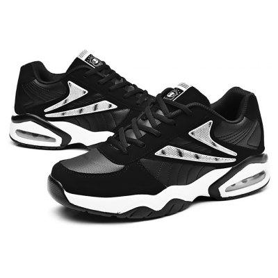 Male Breathable Shock Absorption Running Athletic Shoes
