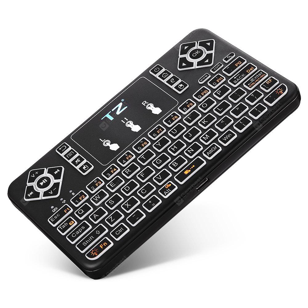 TZ Q9 Bluetooth Keyboard with Touchpad Mouse