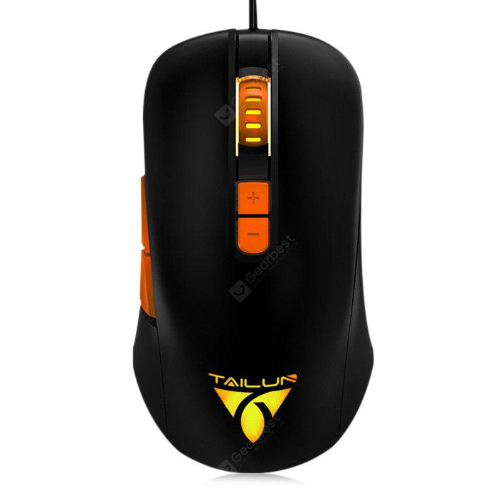 TAILUN T26 USB RGB Wired Gaming Mouse 4000DPI