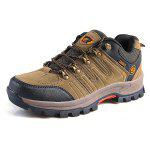 Fashion Outdoor Leisure Hiking Shoes for Men - BROWN