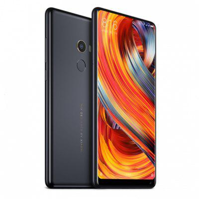 Xiaomi Mi Mix 2 4G Phablet 64GB ROMCell phones<br>Xiaomi Mi Mix 2 4G Phablet 64GB ROM<br><br>2G: GSM 850/900/1800/1900MHz<br>3G: WCDMA B1/B2/B3/B4/B5/B6/B8/B9/B19<br>4G: FDD-LTE B1 / B2 / B3 / B4 / B5 / B7 / B8 / B12 / B13 / B17 / B18 / B19 / B20 / B25 / B26 / B27 / B28 / B29 / B30<br>Additional Features: Calculator, Browser, Bluetooth, Alarm, 4G, 3G, Calendar, E-book, Fingerprint recognition, Fingerprint Unlocking, GPS, MP3, MP4<br>Back Case: 1<br>Back-camera: 12.0MP<br>Battery Capacity (mAh): 3340mAh<br>Battery Type: Non-removable<br>Bluetooth Version: Bluetooth 5.0<br>Brand: Xiaomi<br>Camera type: Dual cameras (one front one back)<br>CDMA: CDMA BC0/BC1/BC6/BC10,CDMA EVDO BC0/BC1/BC6/BC10<br>Cell Phone: 1<br>Cores: 2.45GHz, Octa Core<br>CPU: Qualcomm Snapdragon 835<br>External Memory: Not Supported<br>Front camera: 5.0MP<br>Google Play Store: Yes<br>I/O Interface: Micophone, Type-C, 2 x Nano SIM Slot, Speaker<br>Language: English, Chinese<br>Music format: AAC, WAV, MP3<br>Network type: GSM+CDMA+WCDMA+TD-SCDMA+FDD-LTE+TDD-LTE<br>OS: MIUI 8<br>Package size: 17.80 x 9.00 x 5.00 cm / 7.01 x 3.54 x 1.97 inches<br>Package weight: 0.4600 kg<br>Picture format: JPEG, GIF, BMP, PNG<br>Power Adapter: 1<br>Product size: 15.18 x 7.55 x 0.77 cm / 5.98 x 2.97 x 0.3 inches<br>Product weight: 0.1850 kg<br>RAM: 6GB<br>ROM: 64GB<br>Screen resolution: 2160 x 1080<br>Screen size: 5.99 inch<br>Screen type: Capacitive<br>Sensor: Accelerometer,Ambient Light Sensor,E-Compass,Gravity Sensor,Gyroscope,Hall Sensor,Proximity Sensor<br>Service Provider: Unlocked<br>SIM Card Slot: Dual Standby, Dual SIM<br>SIM Card Type: Nano SIM Card<br>SIM Needle: 1<br>TD-SCDMA: TD-SCDMA B34/B39<br>TDD/TD-LTE: TDD-LTE B34/B38/B39/B40/B41<br>Type: 4G Phablet<br>USB Cable: 1<br>Video format: H.264, H.265, MP4, MPEG4<br>Wireless Connectivity: GSM, Bluetooth, A-GPS, GPS, 4G, 3G, 2.4GHz/5GHz WiFi