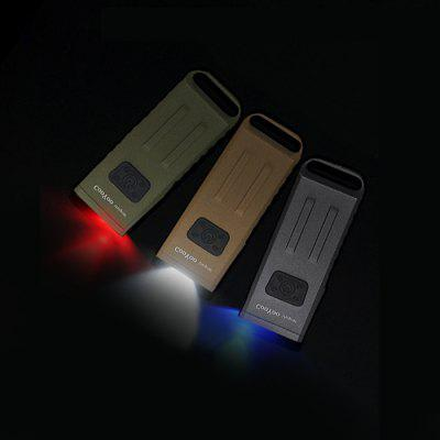 Buy ARMY GREEN CooYoo Usignal CREE XP G2 Keychain Flashlight for $45.85 in GearBest store