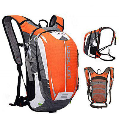 Buy ORANGE Local Lion 18L Cycling Backpack for $23.52 in GearBest store