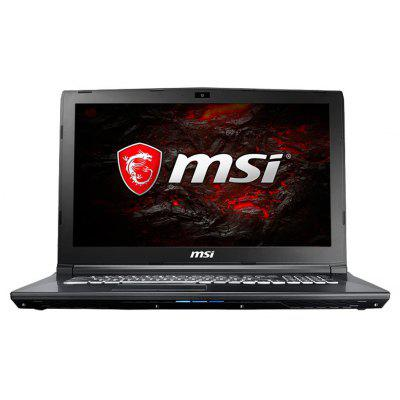 MSI GL72M 7REX - 817 Gaming Laptop laptop top cover for msi gs70 2qc 2qe 2qd 20d 2pc red 772a613y77 772a113y77 e2p 77101xx cg0 772a415y77 771a413y77 307772a417y77