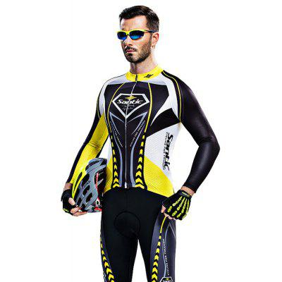 Santic WMCT039 Male Cycling Long Sleeves Suit